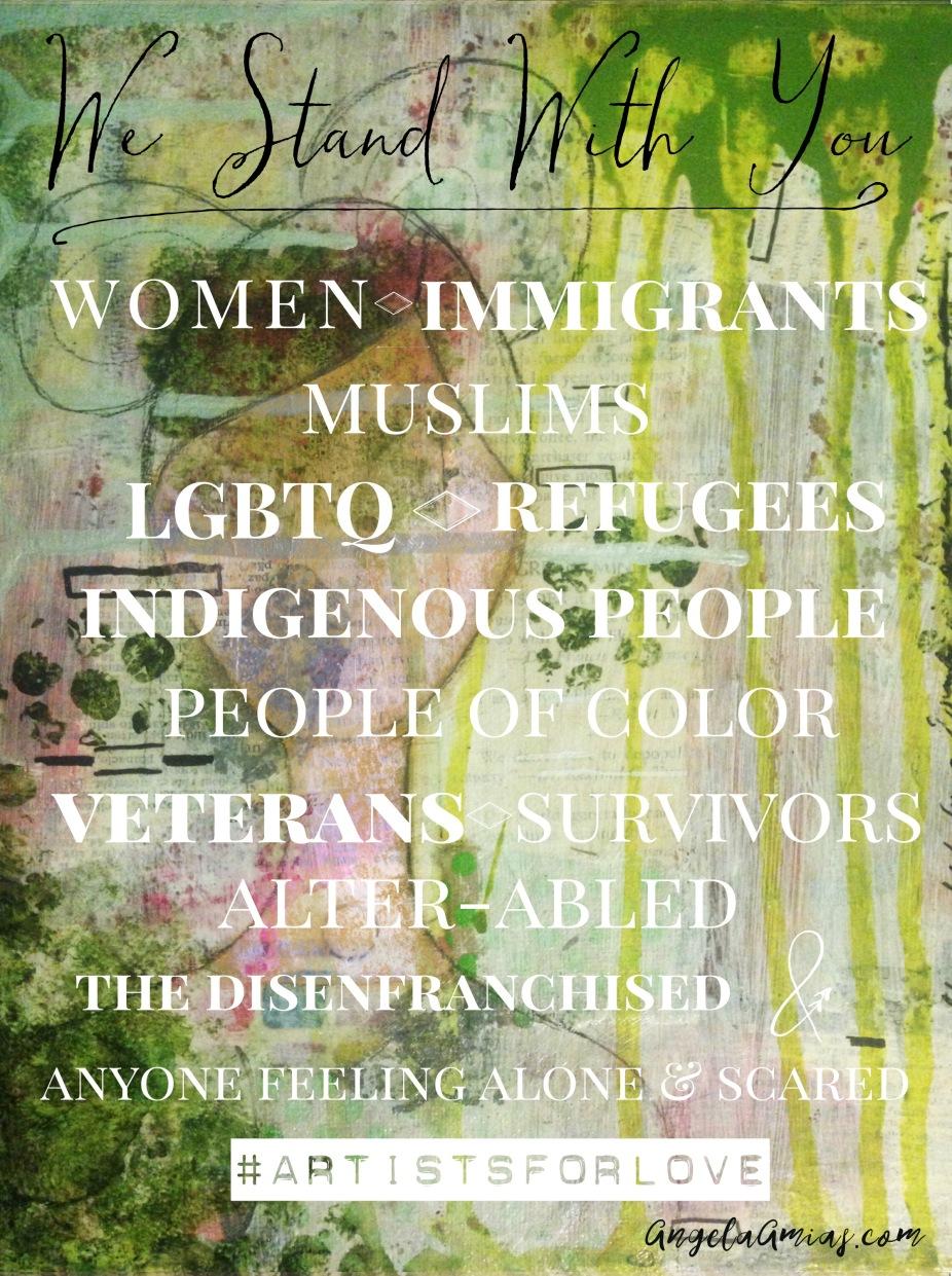 #artistsforlove angelaamias.com